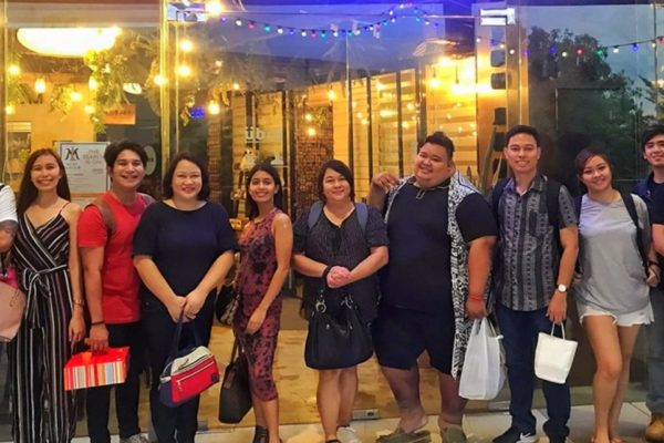 Some of the members of Iloilo Bloggers Society.